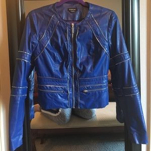 bebe Jackets & Blazers - Bebe leather like jacket