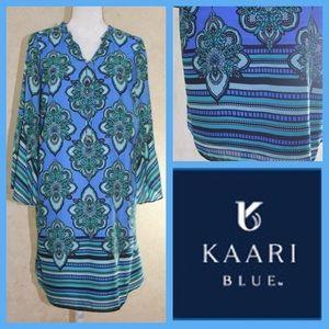 SALE! NWT Bell Sleeve Tie Neck Dress by Kaari Blue