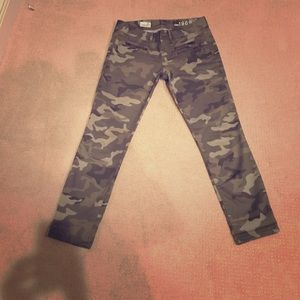 GAP Denim - NWOT Gap 1969 Always Skinny Camo Jeans