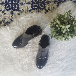 ZARA black chunky boots