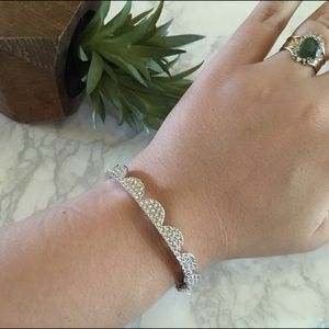 kate spade Jewelry - Kate Spade•Pave Scalloped Bracelet