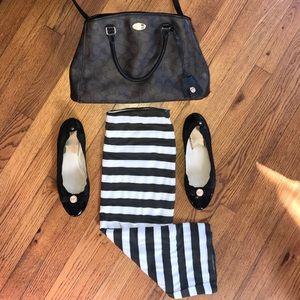 14th & Union Dresses & Skirts - 14th & Union Striped Midi Jersey Knit Skirt (M)
