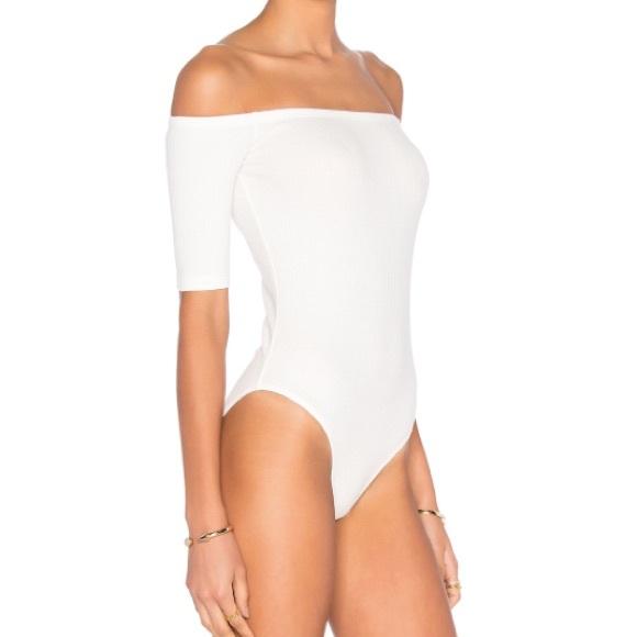 7ff376d1ea1 Capulet Intimates & Sleepwear | Short Sleeve Shoulderless Bodysuit ...