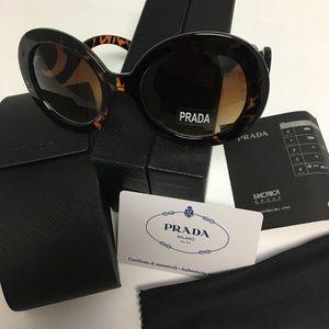 Prada Accessories - 😎Authentic Prada Baroque Tortoiseshell sunglasses