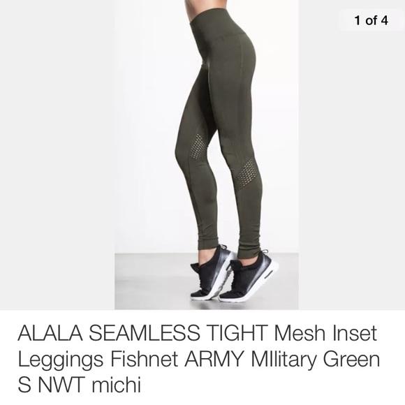 6f4937af06c17 Alala Other | Seamless Tight Mesh Inset Leggings Nwt | Poshmark