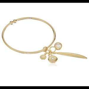 Vince Camuto Jewelry - Vince Camuto Flex Charm Bangle, Gold Plated Base