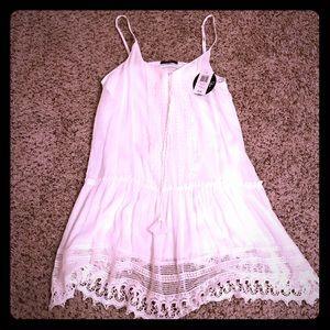 BeBop Dresses & Skirts - Junior white dress, fully lined BeBop size XL NWT
