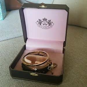 Juicy Couture Jewelry - NWT Juicy Couture bangle bracelet trio