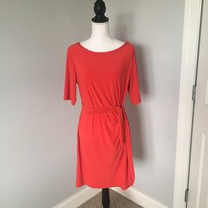 MSK Dresses & Skirts - MSK Red Tie Dress