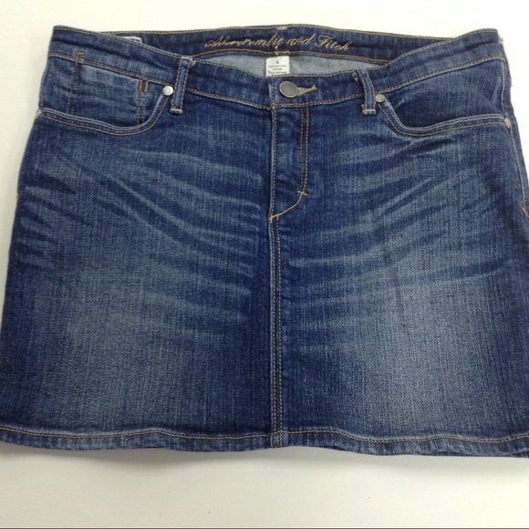 abercrombie fitch abercrombie fitch fitted denim