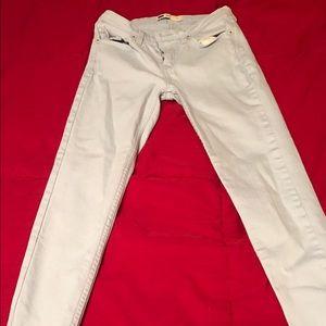 Denim - Light blue Capri skinny jeans***Size small***
