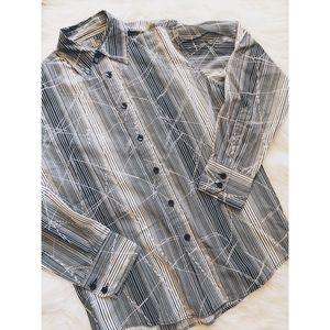 Other - - Men's - Black & White Button-Down