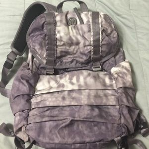 lululemon athletica Handbags - 💖RARE💖 Lululemon Snowy Owl Backpack EUC