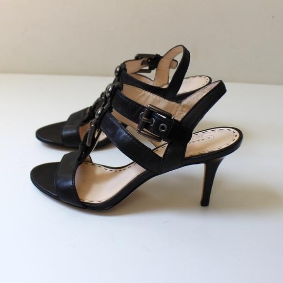 90 coach shoes coach robin high heel strappy