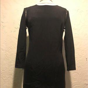 McQ Alexander McQueen Dresses & Skirts - Alexander McQueen black long sleeve zipper dress