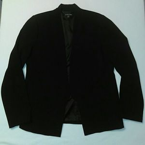 Eileen Fisher Jackets & Blazers - Eileen Fisher Open Front Black Blazer