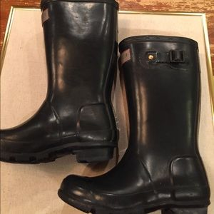 Hunter Boots Other - Hunter Rain boots kids size 11 used