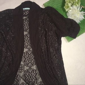 Maurices Sweaters - MAURICES | full lace floral boho cardigan