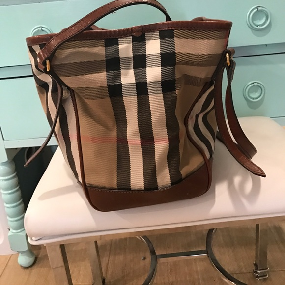 48% off Burberry Handbags - Authentic Burberry Tote 1 Day ...