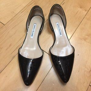 Manolo Blahnik Shoes - Manolo Blahnik shoes flats black 38.5