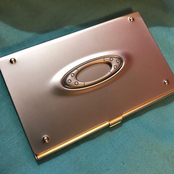 Oakley accessories icon business card holder brand new poshmark oakley icon business card holder brand new colourmoves