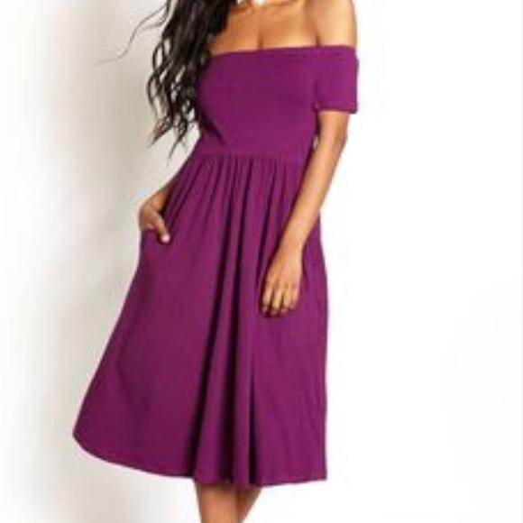 Rebdolls Dresses Plus Size Off Shoulder Dress Size 5x Poshmark