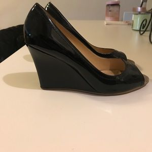 kate spade Shoes - Kate Spade patent leather wedges