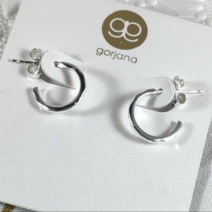 Gorjana Jewelry - NWT Gorjana mini tanner silver hoops