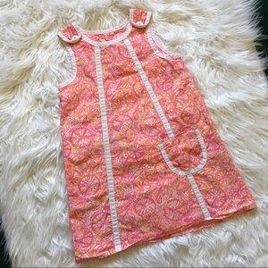 Lilly Pulitzer 10 Speed Bike Dress Pink Girls SZ 4