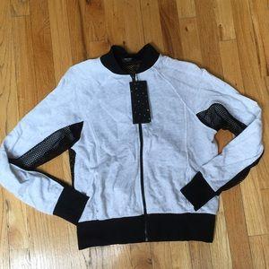 Zara Terez Tops - NWT Terez Zip Up Size Medium