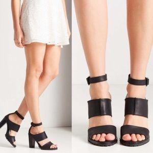 Kelsi Dagger Shoes - Kelsi Dagger Strappy Block Heel Sandal