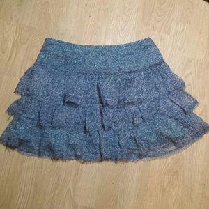 Zadig & Voltaire Dresses & Skirts - Zadig & Voltaire Eglane Raw Edges Silk Skirt