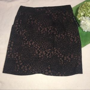 Larry Levine Dresses & Skirts - LARRY LEVINE   animal print wrap skirt with pocket