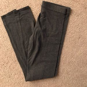 LC Lauren Conrad Other - LC gray and black pokadot leggings