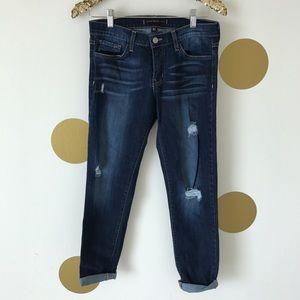 Flying Monkey Girlfriend Distressed Jeans