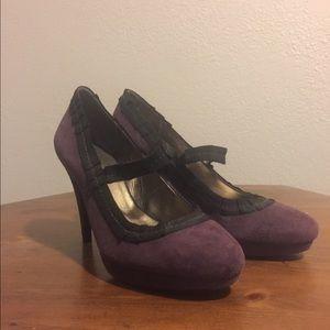 Boden purple heels