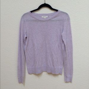F21 Light Purple Sweater