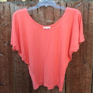 Tops - Flowy Coral Shirt