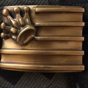 King Baby Studio Accessories - King Baby Studio Brass Belt Buckle