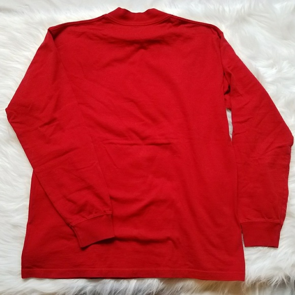 75 off adidas other adidas wisconsin mock neck long for Mock long sleeve t shirts