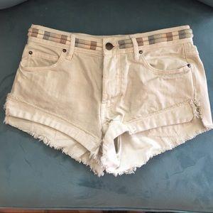 Free People Pants - NWOT Free People distressed shorts
