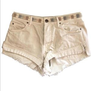 Free People Pants - NEW! Free People distressed shorts