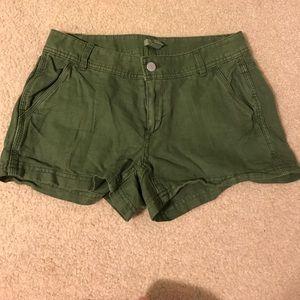 Green J. Crew Shorts #22