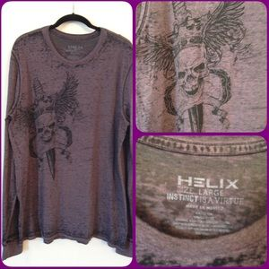 Helix Other - HELIX Men's Lightweight Long Sleeve T-shirt