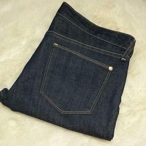 Old Navy Denim - Old Navy Bootcut Flirt Dark Wash Jean Plus Size 14