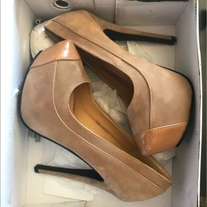 ollio Shoes - Sexy Tan heels