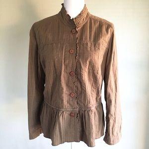 J. Jill Jackets & Blazers - J. Jill Women's Cotton Spring Jacket Size Medium