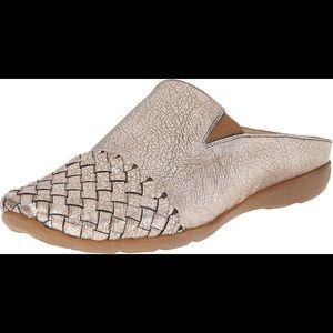 Sesto Meucci Shoes - Sesto Meucci Gabor Woven Leather Mule Sneaker