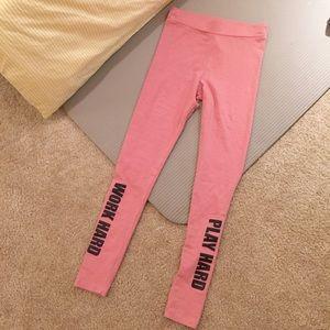 b1727615c4ddb H&M Pants | Hm Work Hard Play Hard Leggings | Poshmark