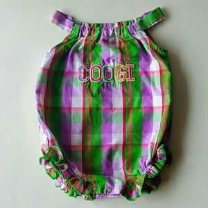 COOGI Other - COOGI Baby Girl Romper Sunsuit 6-9 Months